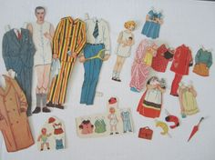 HALF PRICE SALE Vintage Paper Doll House 1930s by NeatoKeen, $27.00