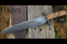 Check out the top 15 Bowie knives of every length and shape, all historically accurate enough to hang on someone's belt in the 19th century West.
