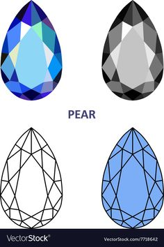 """Buy the royalty-free Stock vector """"Diamond base for your logo, vector illustration. Flat design"""" online ✓ All rights included ✓ High resolution vector f. Gem Drawing, Painting & Drawing, Graffiti, Gem Tattoo, Pearl Tattoo, Crystal Drawing, Jewelry Design Drawing, Jewelry Illustration, Jewellery Sketches"""