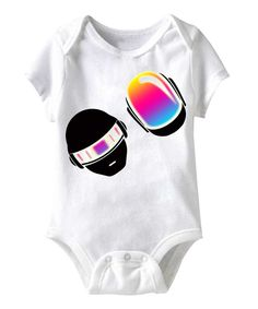 Love this White Robodance Bodysuit - Infant by American Classics on #zulily! #zulilyfinds