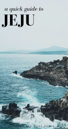 f you're looking to travel go Jeju, an island in South Korea, then here's your quick guide! Full of things to do, where to stay, how to get there, and more!