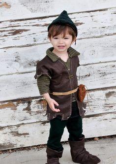 Robin Hood/Peter Pan Haloween costume.