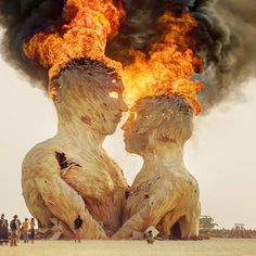 Burning Man 2014 Festival Instagram