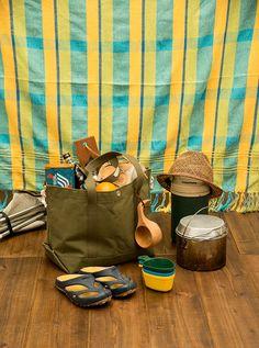 gallery | spoonful-tote(スプーンフル トートバック)- 荷物に合わせて変形できる帆布製トートバッグブランド