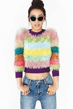 wantering-sweater-weather:  UNIF Furby Sweater Search for more...