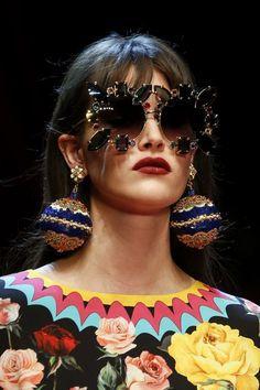 Vanessa Moody for Dolce & Gabbana Spring 2018