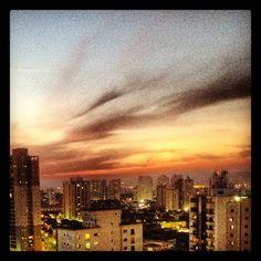 Por do sol. #mooca #Sao Paulo #Brasil