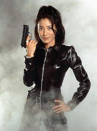 James Bond anniversary: pictures of the best loved Bond Girls from the James Bond films - Photo 16 Michelle Yeoh, Roger Moore, Sean Connery, Casino Royale, Gi Joe, Best Bond Girls, James Bond Women, Film Science Fiction, George Lazenby