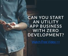 Did you know that you can start a game or utility app business in less than a week...