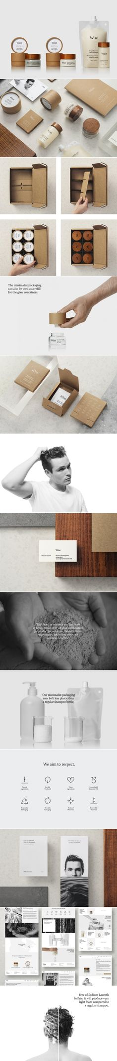 Wise Men's Care Believes in Doing a Lot with Very Little — The Dieline   Packaging & Branding Design & Innovation News