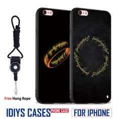 The Lord of the Rings Classic Coque With Hang Rope Soft Silicone Phone Case Cover Shell Bag For Apple iPhone 5 SE 5S 6 6S 7 PLUS //Price: $US $3.58 & FREE Shipping //     #hashtag2