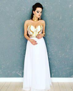 3f39034eb8c Роскошное белое платье
