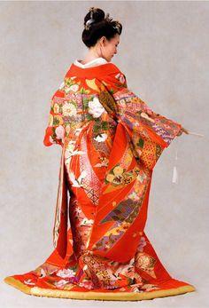 #Bridal #kimono #wedding