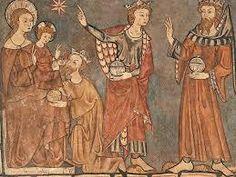 EPIFANÍA. Pintura mural de Teresa Dieç [Iglesia de Santa Clara de Toro, Zamora, 1316]