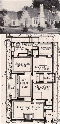 1920s English Cottage House Plans Floor Plans For Victorian Homes In  Vintage English Cottage House Plans