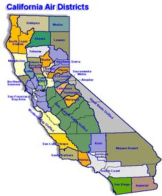 cool Map of California