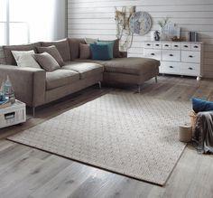 Webteppich in Taupe: für den Innen- und Außenbereich geeignet