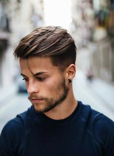 The Pompadour Haircut for Men. Inspirational the Pompadour Haircut for Men - Manly Cutthroat Haircut. 25 Pompadour Hairstyles and Haircuts Short Hair Styles Easy, Short Hair Cuts, Medium Hair Styles, Curly Short, Easy Hairstyles For Medium Hair, Easy Hairstyles For Long Hair, Men's Hairstyles, Young Mens Hairstyles, Wedding Hairstyles
