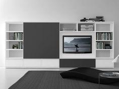 Perfect wohnwand fernseher versteckt Google Suche