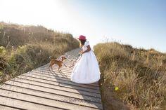 Un paseo con Irene en la playa de Xago, Fotos de comunión en exteriores.