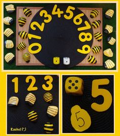 """Counting with bees from Rachel ("""",)"""