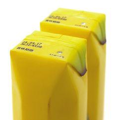Banana juice package