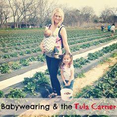 Tula Carrier Grey Zig Zag - Standard