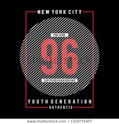 New York city typography graphic art,for t shirt design vector illustration idea T Shirt Design Vector, Polo Shirt Design, Tee Shirt Designs, Edm Logo, Illustration, Stripes Design, Lettering Design, Logo Inspiration, New Pictures
