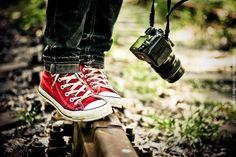 red converse [credit: Alyona Lobanova]