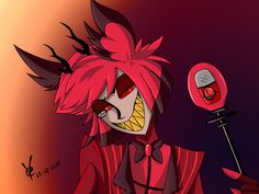 This is one of my better artworks. I LOVED watching Hazbin Hotel and really fell in love with the characters in it. The animation is only for Mature Viewers though. Alastor Hazbin Hotel, Cool Artwork, Falling In Love, Artworks, I Am Awesome, Art Pieces, My Arts, Characters, Animation