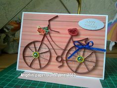 quilled bicycle  by Angelin