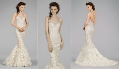 Lazaro Bridal Gowns, Wedding Dresses Style LZ3451 by JLM Couture, Inc.