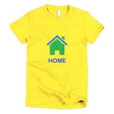 Home St Vincent - Short sleeve women's t-shirt - Properttees