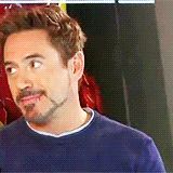 Robert Downey Jr. has the cutest laugh