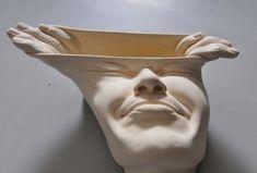 Born in Hong Kong in artist Johnson Tsang employs realist sculptural techniques accompanied by his incredible surrealist imagination. Human Sculpture, Sculptures Céramiques, Sculpture Art, Sculpture Ideas, Johnson Tsang, Surrealist Collage, Human Body Art, Ap Studio Art, Gcse Art