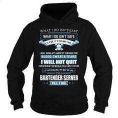 BARTENDER-SERVER #shirt #T-Shirts. CHECK PRICE => https://www.sunfrog.com/LifeStyle/BARTENDER-SERVER-91764008-Black-Hoodie.html?60505