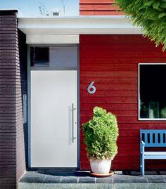 Groke modern aluminum entry door model 12660 - modern - front doors - charlotte - Groke Doors / SOMMER-USA