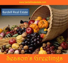 Season's Greetings from Bardell Real Estate Team.