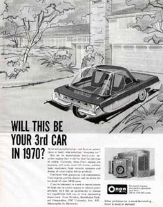 DREAM CARS IN ADVERTISING
