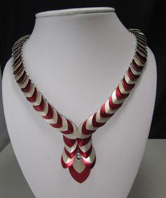 Scale Necklace by Pamela Davies