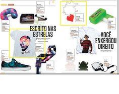 Dois produtos da Elo7 foram publicados em matéria da Revista Gol, sobre estampas diferenciadas.