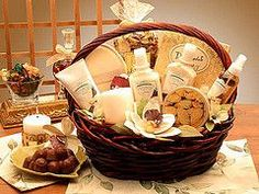 Cute gift basket ideas.