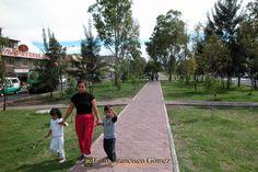 Nezahualcóyotl, Méx. 23 de abril 2013. Muchas de las grandes avenidas y camellones del municipio han sido rescatados con el paso del tiempo. Foto. Francisco Gómez