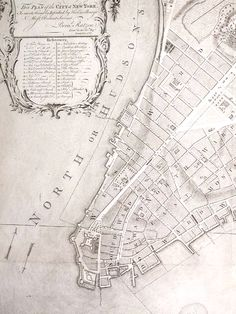 Plan of the City of New York ,ca. Map Of New York, New York City, Manhattan Map, The Great Fire, Dutch Colonial, Image Map, Walled City, Old Maps, Map Design