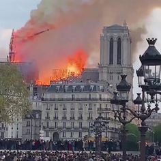 Notre-Dame came far closer to collapsing than people knew. This is how it was saved. - The New York Times Catholic Beliefs, Catholic Churches, Catholic Art, Spiritual Reality, Digital Storytelling, Church Architecture, Historical Images, Fire Dept, Fire Trucks