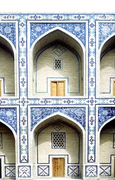 The Ulughbeg madrasas, 1417 Photography: Erdinç Bakla.