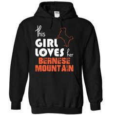 This Girl Loves Her Bernese Mountain T-Shirts, Hoodies. Check Price Now ==► https://www.sunfrog.com/Pets/This-Girl-Loves-Her-Bernese-Mountain-gmzou-Black-14983201-Hoodie.html?41382