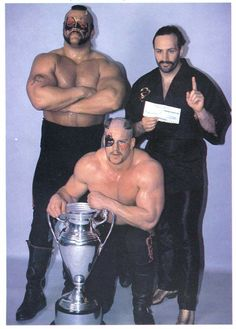 The Road Warriors, Wrestling Superstars, Old School, Sports, Wwe, Fictional Characters, Legends, Icons, Hs Sports