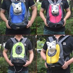 Double Shoulder Dog Portable Carrier Backpack/Front Bag