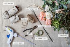 silk flower supplies